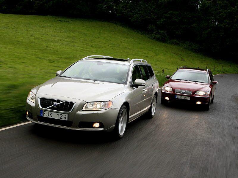 Vi låter nya Volvo V70 T6 AWD möta Volvo V70 Classic rond för rond.