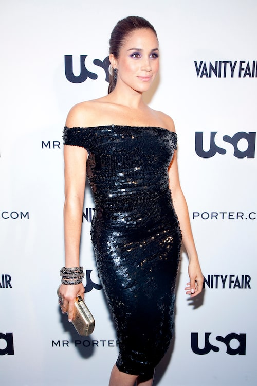 Meghan Markle på gala i Los Angeles 2012.