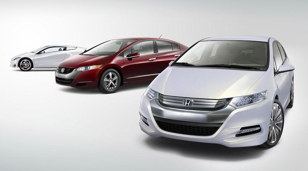 Honda CRZ, FCX och Insight