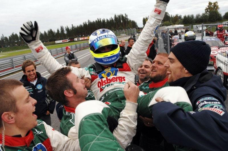 Richard Göransson klar STCC-mästare