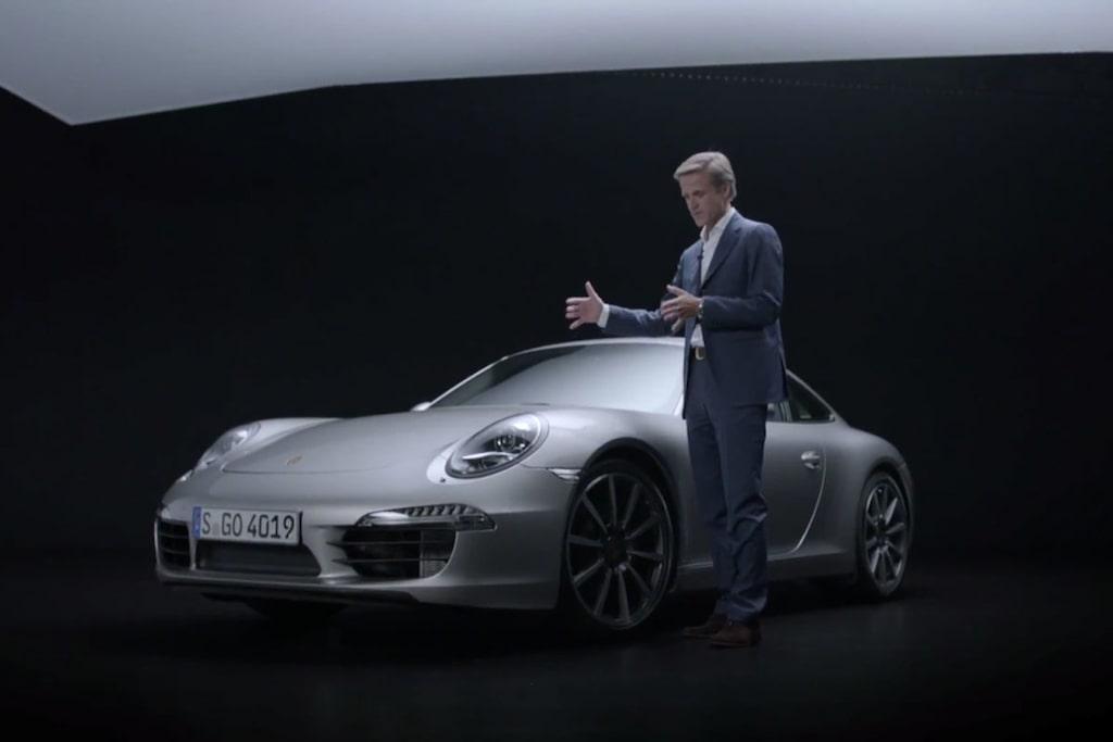 Porsche 911 design Michael Mauer
