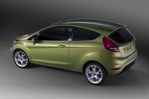 Ford Fiesta som den ser ut i Europa.