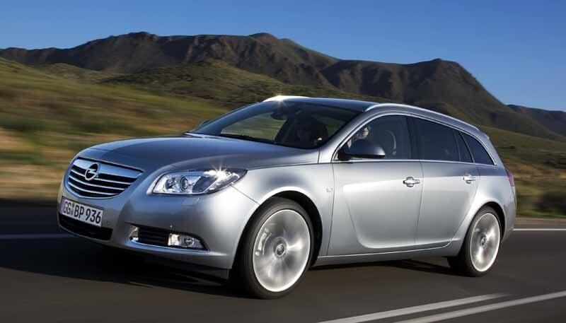 Provkörning av Opel Insignia Sports Tourer