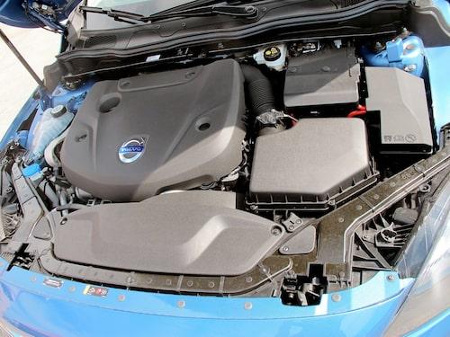 Plastsjoken täcker Volvos nya läckerbit till VEA-motor.