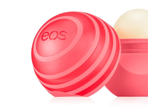 Recension av Lip balm , Eos.