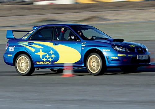 Provkörning av Subaru Impreza WRX STI