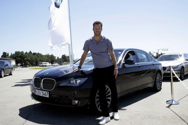 Daniel Frodin har redan fått känna på nya BMW 7-serie, det skönaste företaget från Bayern har att erbjuda.