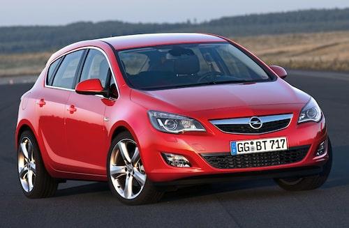 Opel Astra J 2009