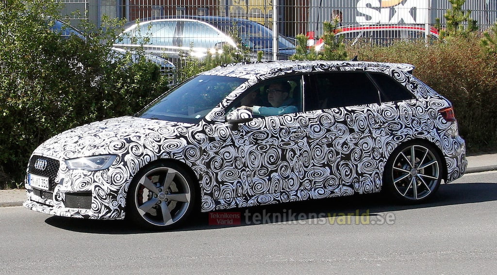 Nya Audi RS3