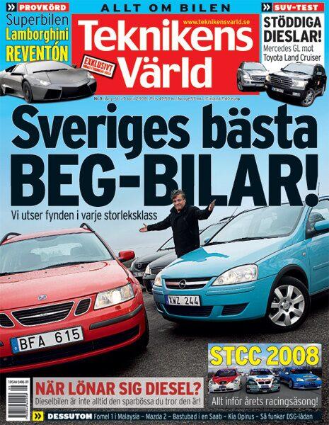 Teknikens Värld nummer 9 / 2008