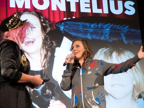 Martina Montelius, årets kulturmama.