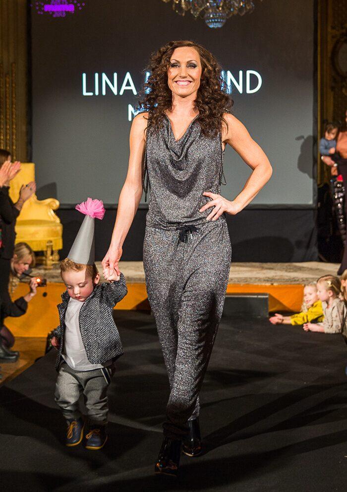 Lina Hedlund med Tilo.
