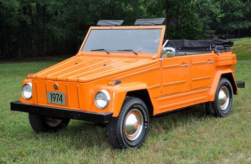Volkswagen Typ 181 Kurierwagen på väg tillbaka i elektriskt utförande...