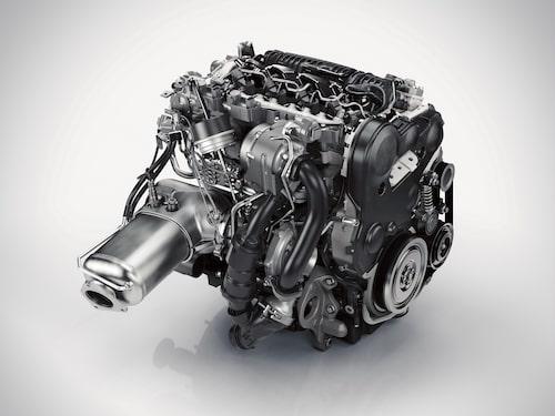 D5-dieselmaskinen.