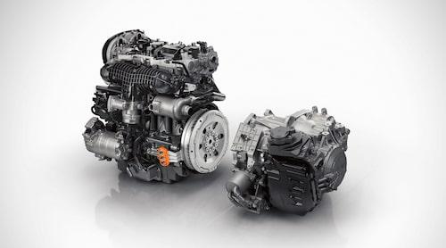 T8 Twin Engine-motorpaketet.