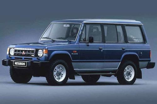 Första generationen Pajero tillverkades mellan 1982 och 1991.