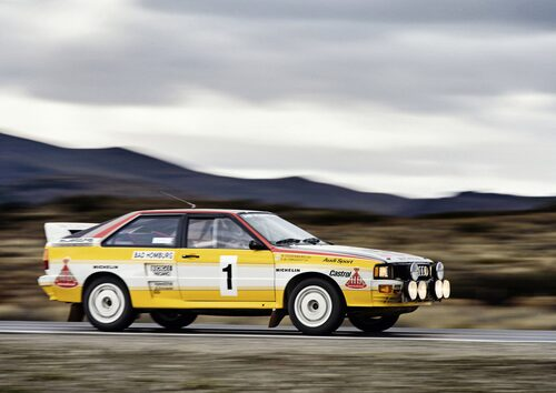 Audi quattro A2, Grupp B 1983