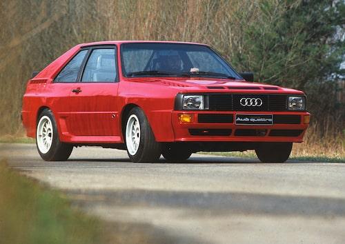 Audi Sport quattro (B2) 1984