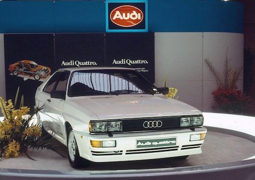 Audi quattro (B2) 1982