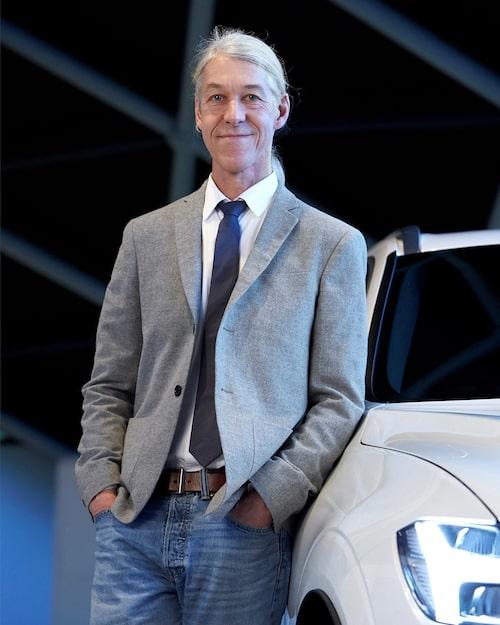 Mårten Levenstam, senior vice president product strategy and business ownership på Volvo Cars