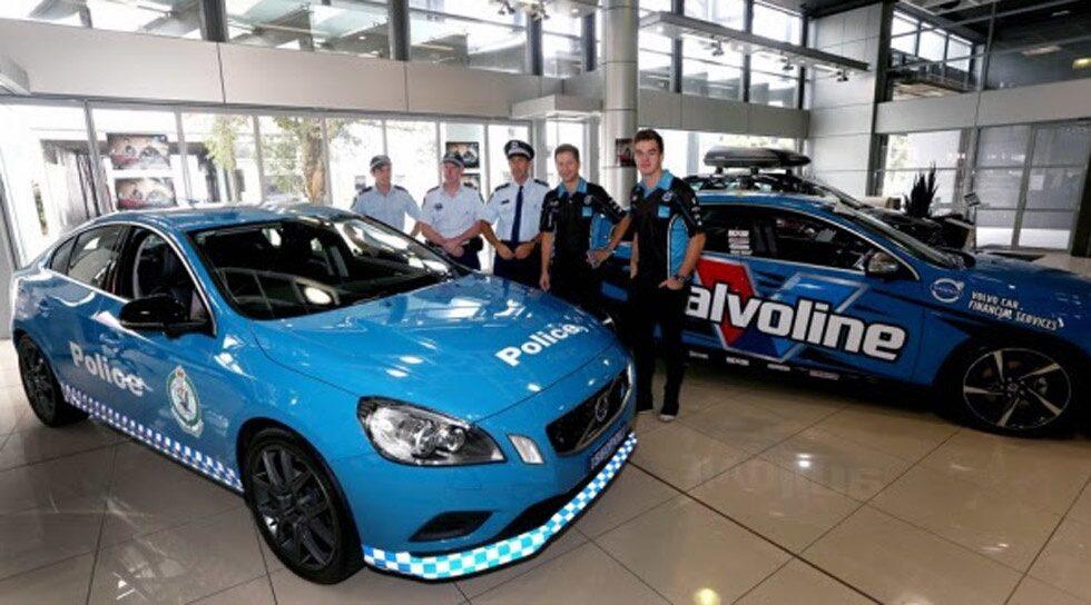Volvo S60 Polestar polisbil