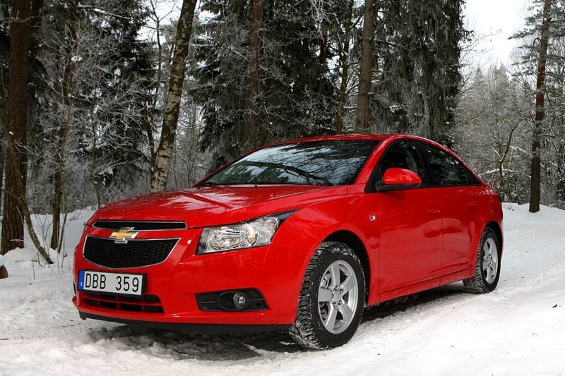 Provkörning av Chevrolet Cruze 1,6 LS