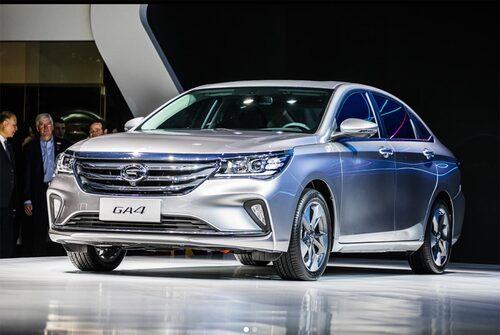 Modellen GA4 hade premiär under bilsalongen i Detroit.