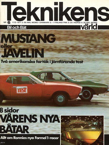 Teknikens Värld nummer 6 / 1971