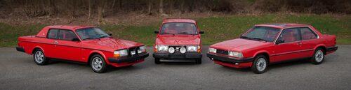 Pehr G Gyllenhammars tjänstebilar; Volvo 262C, 240 Turbo och 780.