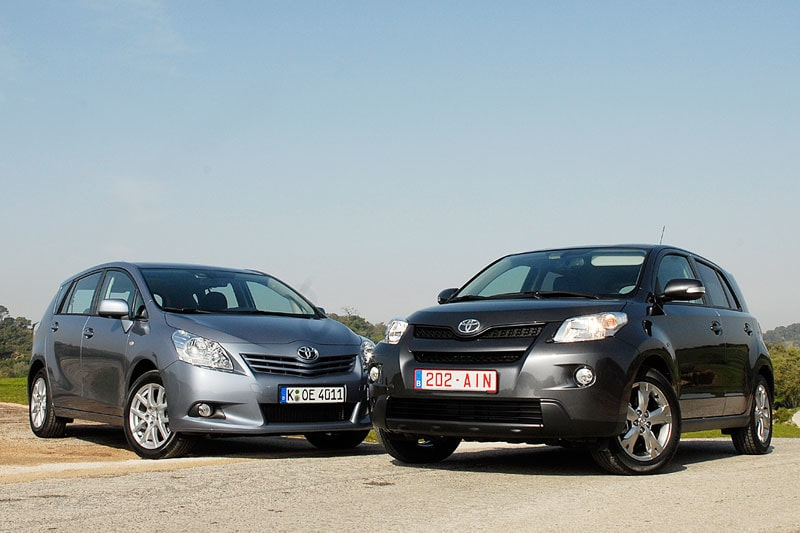 Provkörning av Toyota Verso och Urban Cruiser