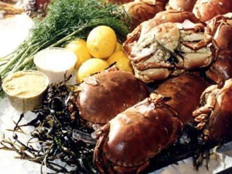 Krabba smakar mer salt än andra skaldjur, med en nästan besk underton.
