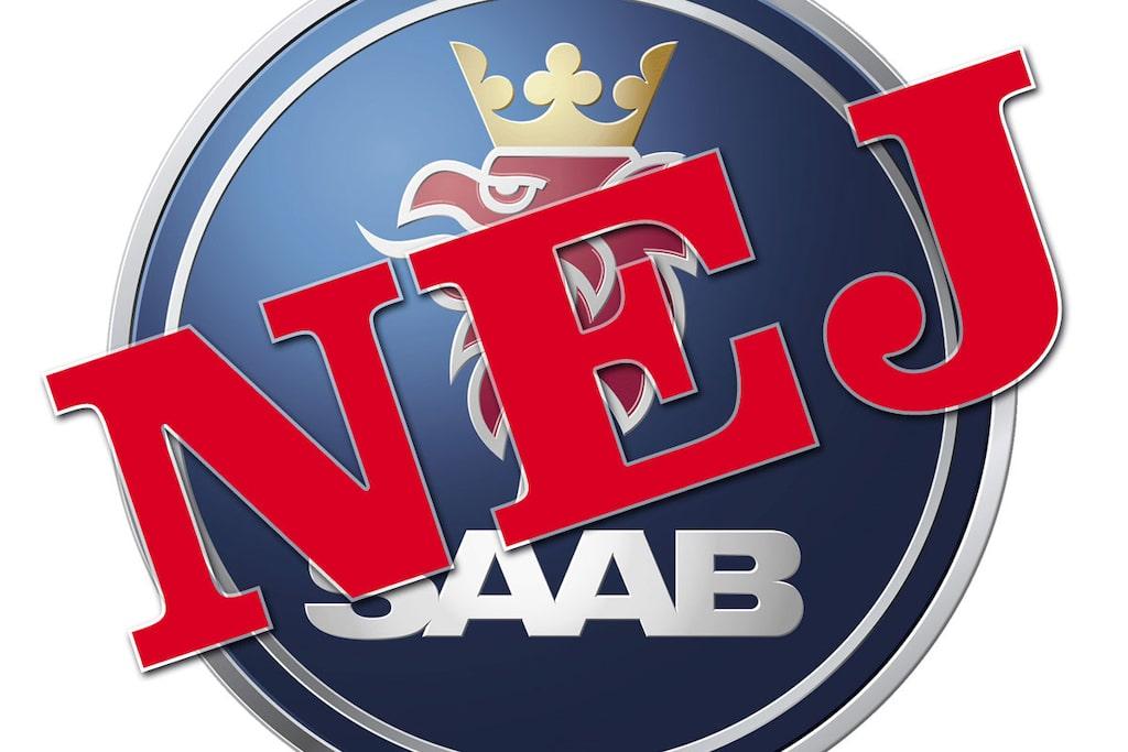 Saab fick nej till rekonstruktion