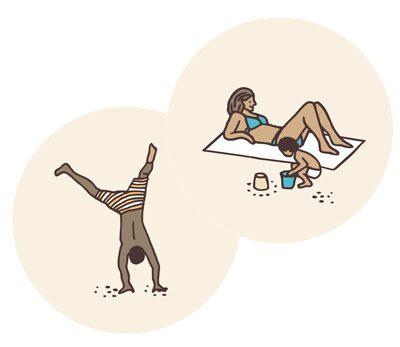 Spara föräldradagar för extra långa sommarlov – så här kan man göra.