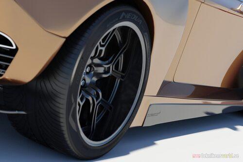 Volvo T8-R Concept (Illustration: Teknikens Värld-läsare)