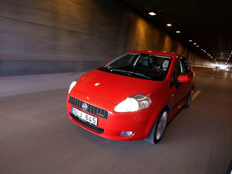 Provkörning av Fiat Grande Punto 1,9 MJT