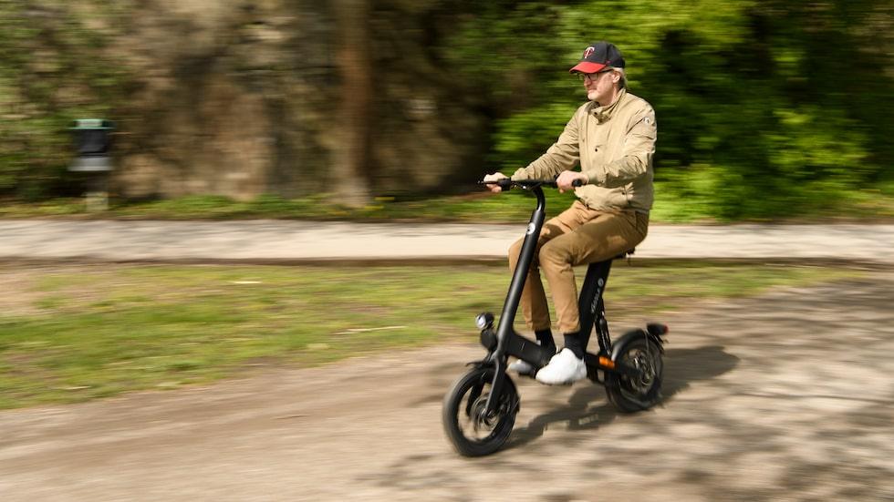 Vässla Bike är begränsad till 22 km/h i Sverige. En lagom hastighet.