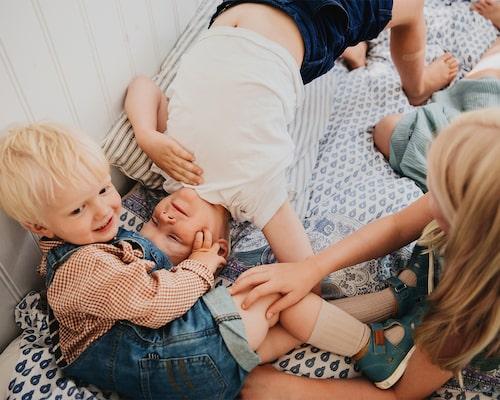 Mammagemenskapen, där mammor hjälper mammor är något som Ebba uppskattar mycket.