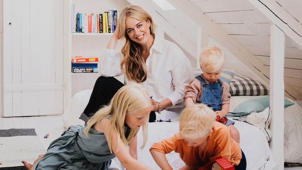 Ebba von Sydow om barn, bebis-tiden och kraschen in i utmattningen.