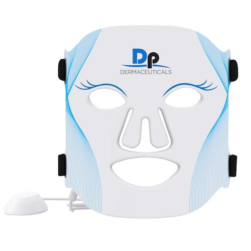 LED-ansiktsmask att använda hemma.