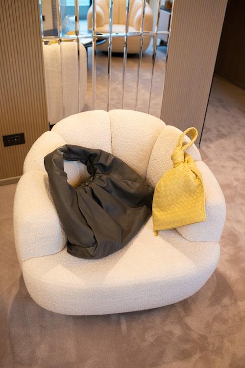 Väskor från Bottega Veneta.