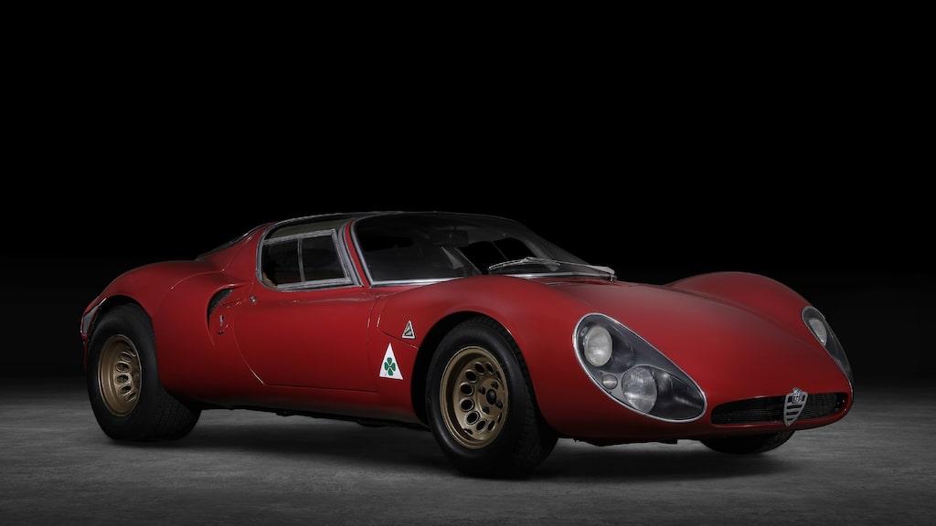 Alfa Romeo 33 Stradale från 1967.
