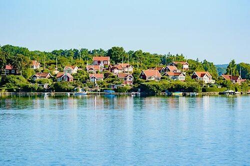 Koloniområdet på Dragsö visar vi stolt upp för turister.