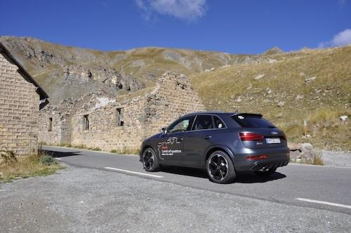 Audi RS Q3 går även att beställa utan siffran 8 på bakrutorna.