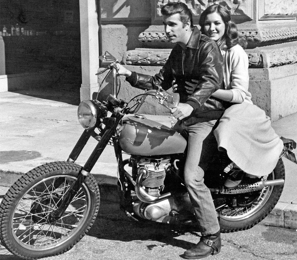 Fonzies motorcykel i Gänget och jag auktioneras ut