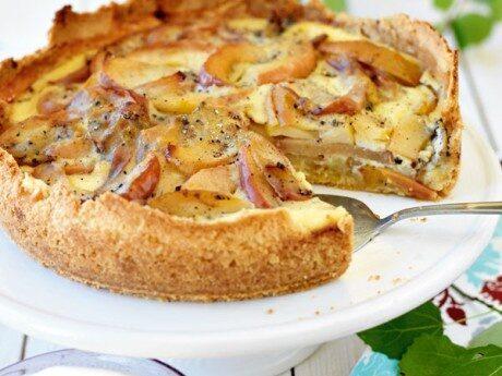 Äppelkakan Viktors vinnarpaj och recept på äppelkaka i långpanna