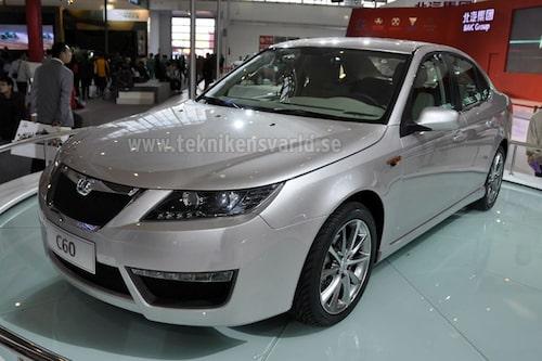 Konceptbilen Beijing Auto C60