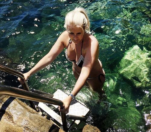 Ta ett dopp i det gröna vattnet!