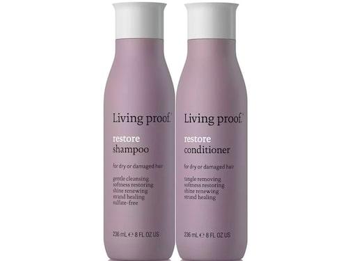 Recension på Restore schampo och balsam från Living Proof.