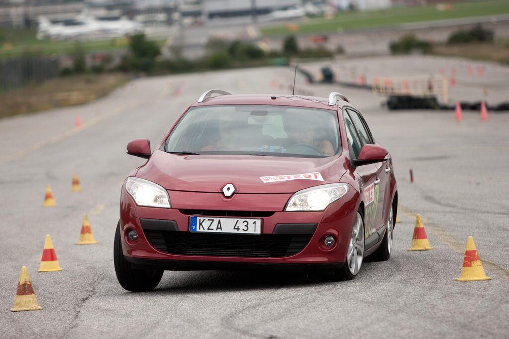 Renault Megane visade sig vara 130 kg tyngre än vad registreringsbeviset anger.