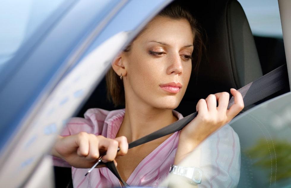 Bilbältesanvändningen varierar stort i landet